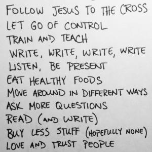 Simple Goals 2013